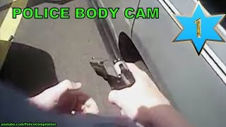 Police body cam compilation, part 1