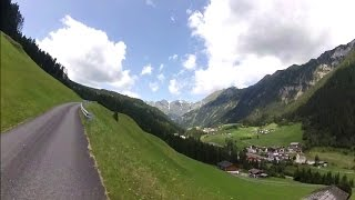 60 Minute Uphill Cycling Training Workout Alps Italy Full HD