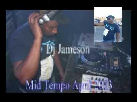 Dj JazzyJ Mid Tempo mix April 2013.