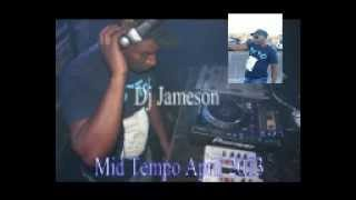 Dj JazzyJ Mid Tempo mix April 2013.