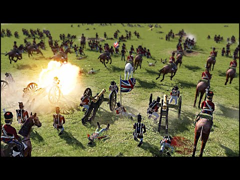 EPIC NAPOLEONIC WARS LINE BATTLE - Heroes of the Napoleonic Wars Mod Gameplay