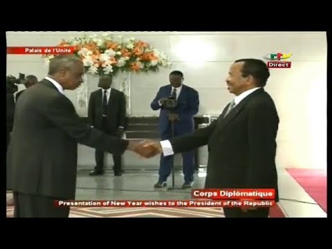 ÉDITION SPÉCIALE - (The DIPLOMATIC CORPS PRESENTS its NEW YEAR WISHES to BIYA) - 09 Janvier 2019