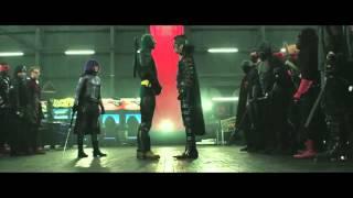 Отрывок из финальной битвы фильма Пипец 2