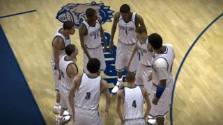 NCAA 08 March Madness PS3 #2 UCLA Bruins vs #3 Georgetown Hoyas video game
