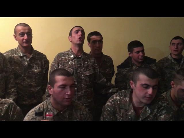 Image result for Ինչպես են մեր զինվորները մարտական դիրքերում դիմավորել Ամանորը (Video)