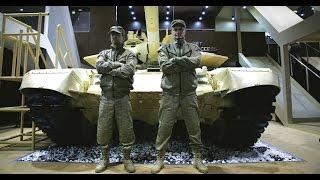 Российские танки вызвали настоящий аншлаг на выставке