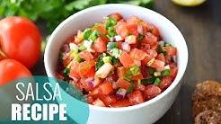 How to Make Salsa   Easy Homemade Salsa Recipe