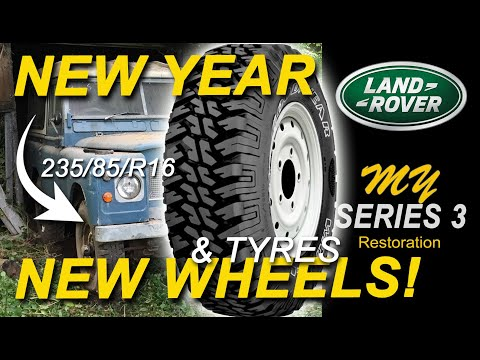 Land Rover Series 3 Restoration - New Year, New Wheels (& Tyres) - Part 36