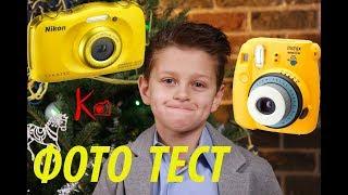 видео Мини-обзор компактной фотокамеры Nikon Coolpix S32