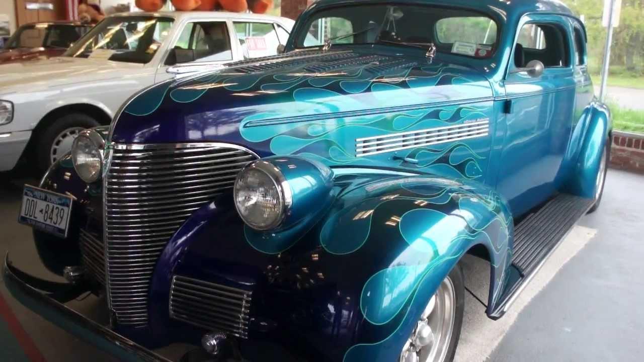 1939 Master Deluxe Hot Rod For Sale Suicide Doors Corvette