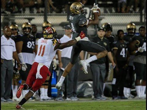2016 American Football Highlights - Maryland 30, UCF 24