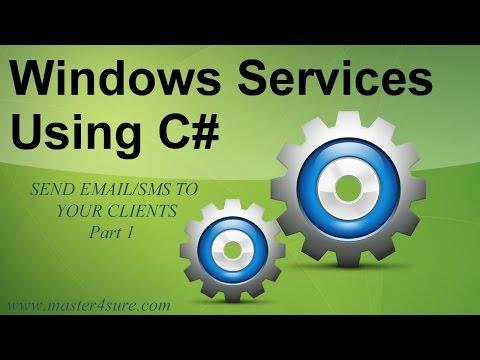 Create Windows Service Using C#