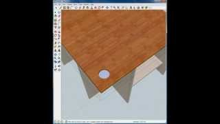 Building A Computer Desk Using Google Sketchup 8