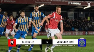 Salford City 1-3 Shrewsbury Town | Emirates FA Cup First Round Replay