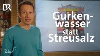 Gurkenwasser statt Streusalz: Winterdienst in Niederbayern | Gut zu wissen | BR