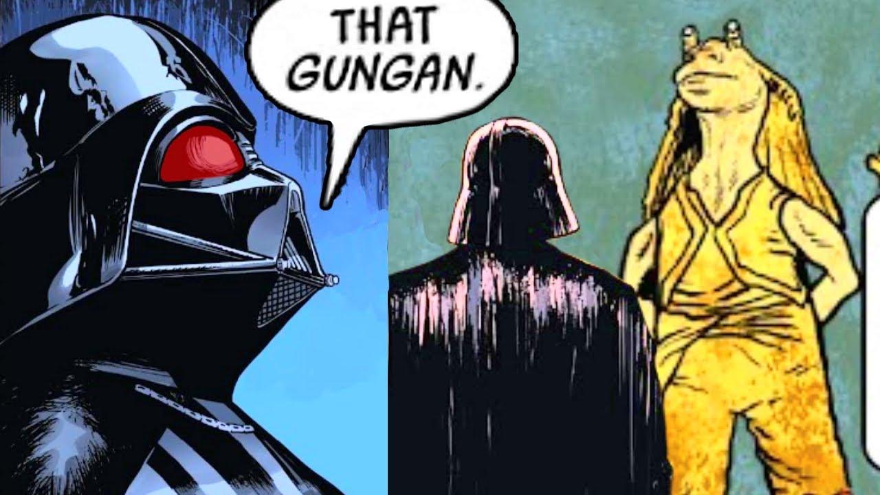 When Darth Vader Saw Jar Jar Binks Again & Reacted(Canon) - Star Wars Comics Explained
