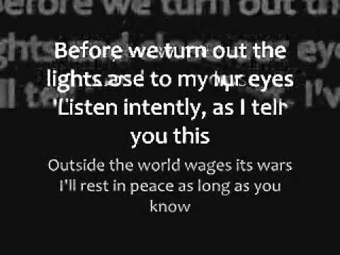 Final Goodbye Lyrics