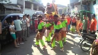 Tari Sisingaan- Yudha Asri di Khitanan Kel. Bpk. Sartono, Krukut, Taman Sari, Jakarta 30/6/2013