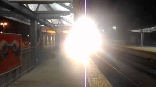 The only time the K5LA from the Commuter Rail scared me!