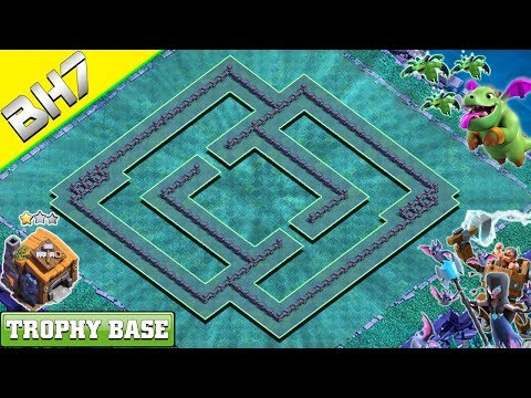 NEW Builder Hall 7 (BH 7) Base 2019 Design With COPY LINK | Clash Of Clans