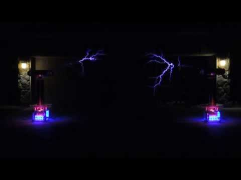 """Pirates of the Caribbean"" on Musical Tesla Coils"
