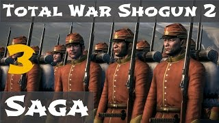 Total War Shogun 2 Fall of the Samurai Saga Campaign 3