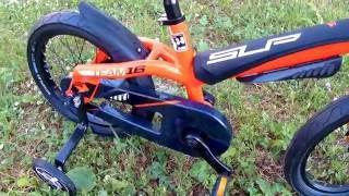 160620 обзор детского велосипеда SUPERIOR TEAM 16