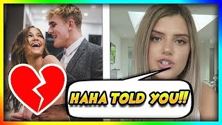 Alissa Violet Reacts To Jake Paul Cheating On Erika Costell