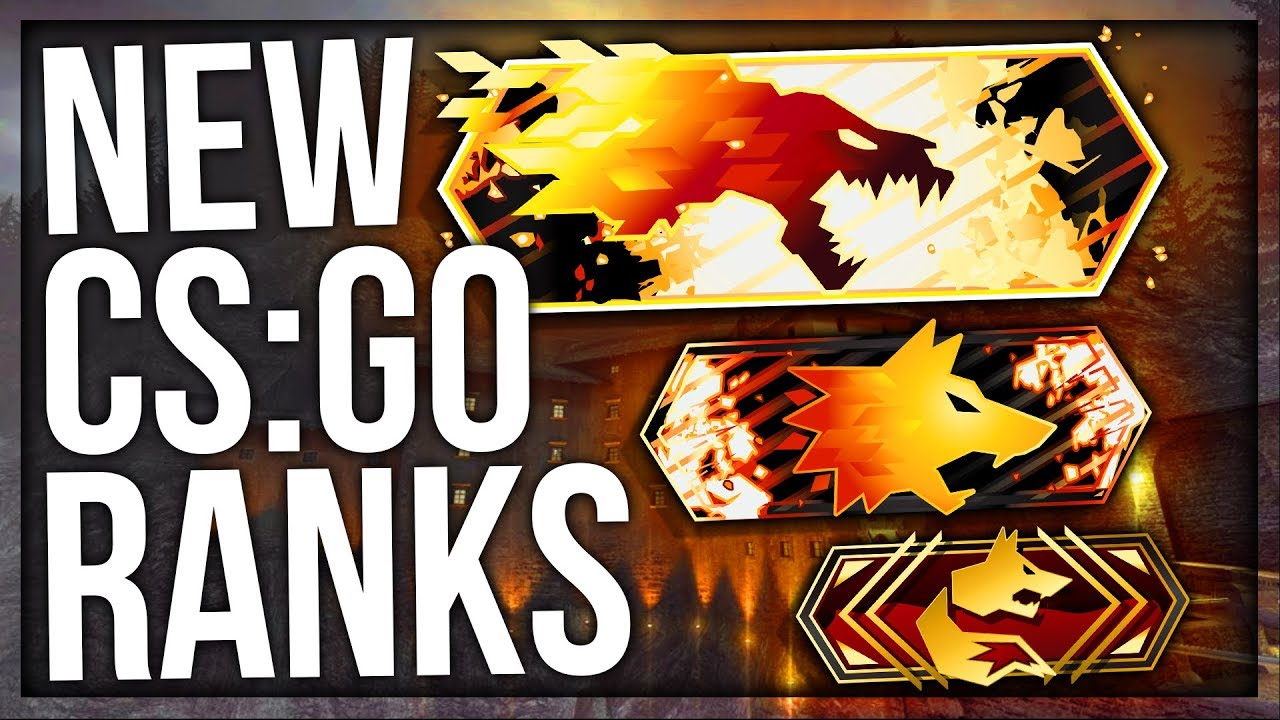 NEW CS:GO RANKS (RANK UPDATE) - YouTube