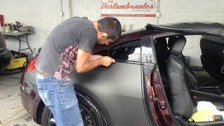 Tutorial: Cómo Poner Vinil en un Automóvil... Nissan 350Z