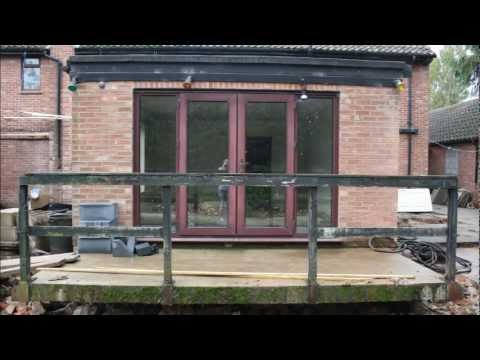 preparation of flat roof extension prior to build youtube. Black Bedroom Furniture Sets. Home Design Ideas