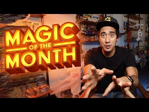 Zach King Reacts To Your Magic | MAGIC OF THE MONTH - October 2019