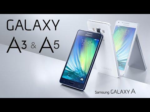 Samsung Galaxy A3 y Galaxy A5: Características y Precios de su Gama Media (Español)