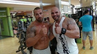 Rafa Mora, Entrenamiento Alta Intensidad por Sergio Fernandez para Muscular Development