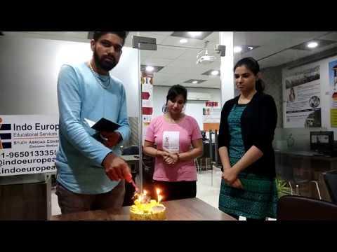 Our student Naveen got Visa for LATVIA,