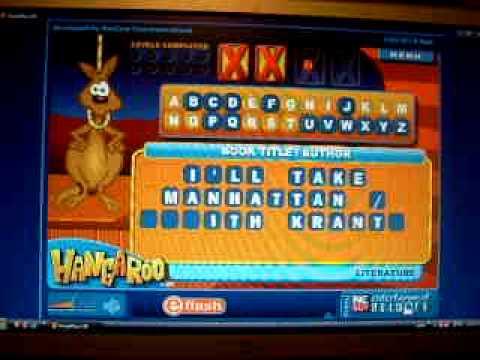 Hangaroo - The Kangaroo Version of Hangman