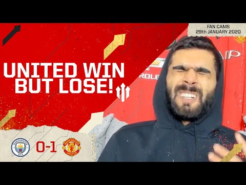 PRIDE IN DEFEAT! Man City 0-1 Man United | LIVE REACTION