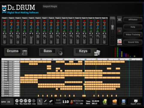 dr drum beat maker online dr drum digital beat making software youtube. Black Bedroom Furniture Sets. Home Design Ideas
