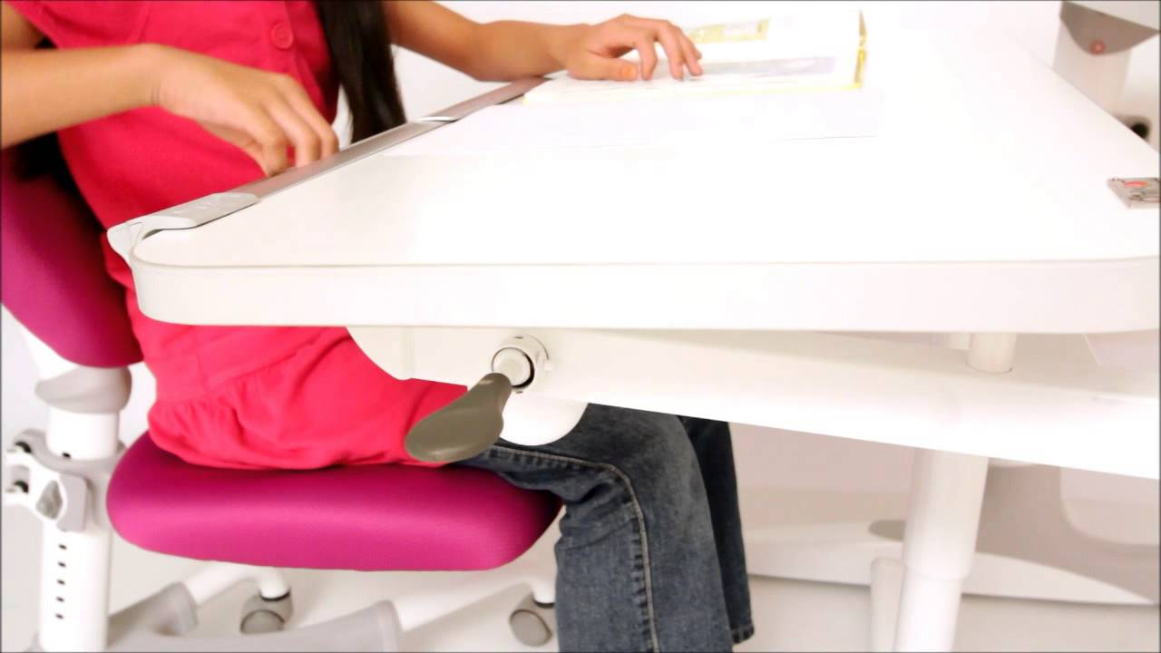 Intelligent Kids Station Ergonomic Study Desk And Chair Correcting Sitting Posture