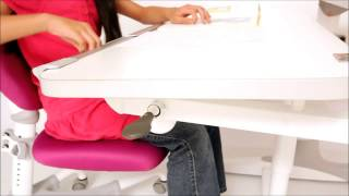 Intelligent Kids Station Ergonomic Study Desk And Chair Correcting Kids Sitting Posture