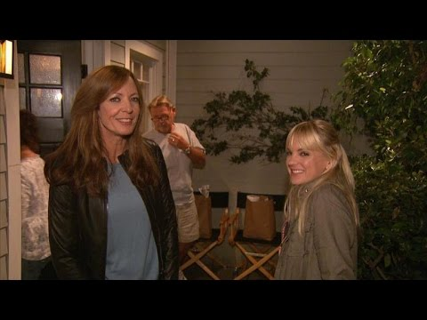 On Set with Allison Janney and Anna Faris at 'Mom,' TV's Most Improved Comedy