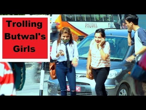 Nepali Prank - Trolling Butwal's Girls || LNL