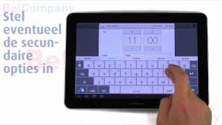 Samsung Galaxy Tab 10.1 - Het instellen van de wekker
