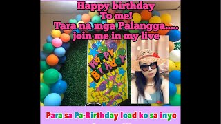 Happy birthday to me! Eto na ang pa-birthday load ko sa inyo