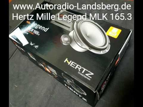 unboxing auspack video hertz mille legend mlk165 3 2. Black Bedroom Furniture Sets. Home Design Ideas