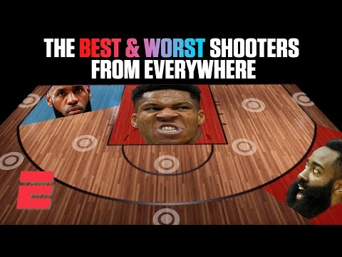 The best and worst NBA shooters from everywhere on the floor | NBA on ESPN
