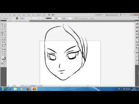 วาดภาพการ์ตูนด้วย Adobe Illustrator CS5