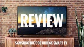 Unboxing Samsung NU7090 UHD 4K SMART TV
