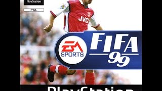 FIFA 99 gameplay (PS1)