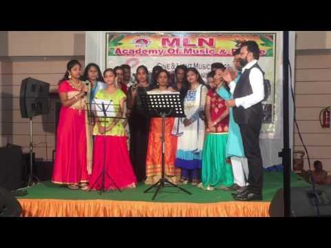 Jagadananda karaka song cover by MLN ACADEMY students